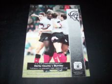 Derby County v Burnley, 1991/92 [FA]